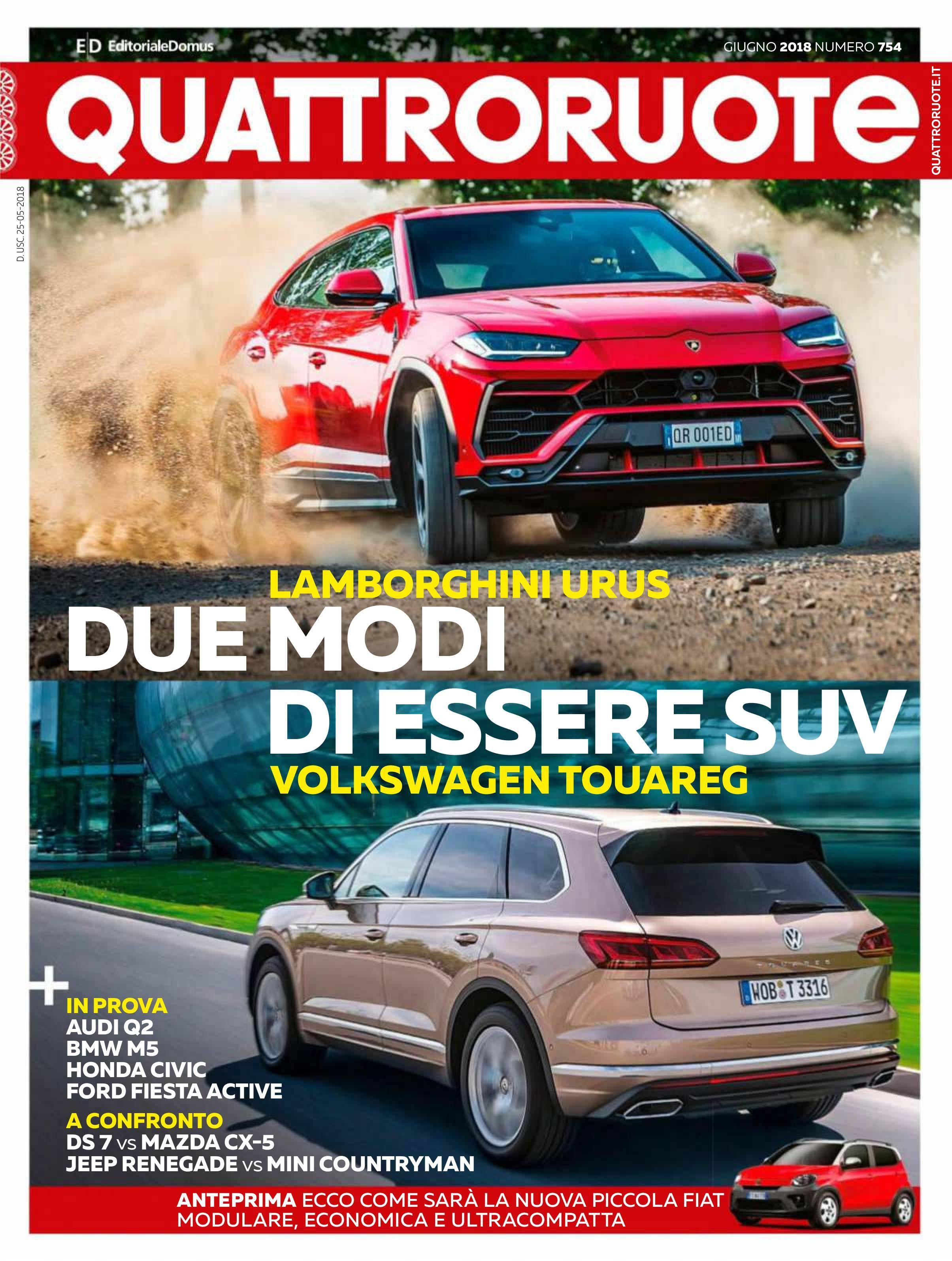 Quattroruote Italia - giugno 2018