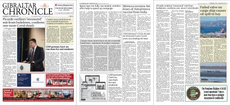 Gibraltar Chronicle – 13 February 2021