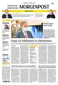 Solinger Morgenpost – 31. März 2020