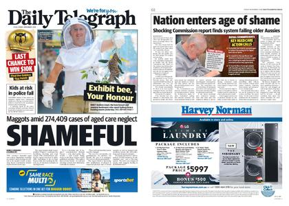 The Daily Telegraph (Sydney) – November 01, 2019