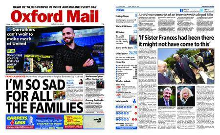 Oxford Mail – June 22, 2018
