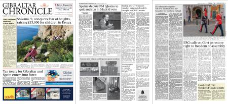 Gibraltar Chronicle – 16 March 2021