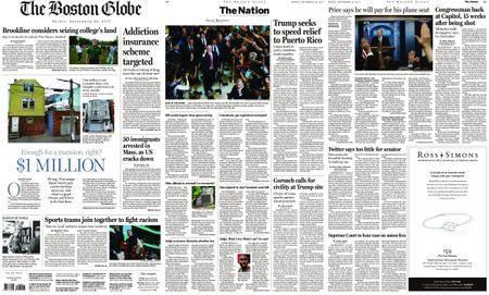 The Boston Globe – September 29, 2017
