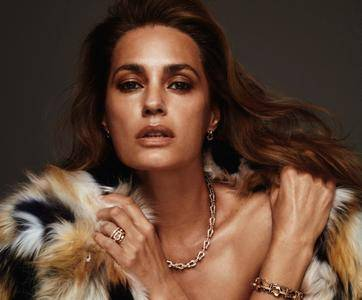 Yasmin Le Bon by Chris Colls for Vogue Paris September 2018