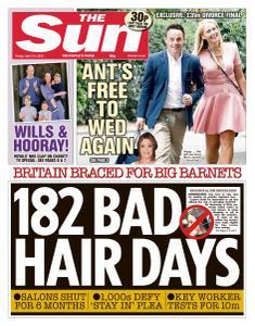 The Sun UK - 24 April 2020
