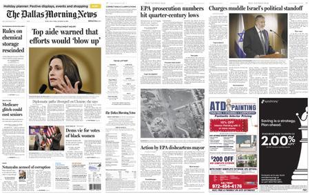 The Dallas Morning News – November 22, 2019