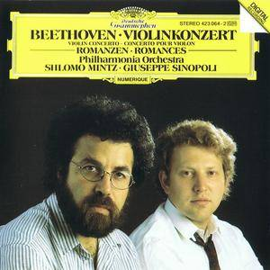Shlomo Mintz, Giuseppe Sinopoli - Beethoven: Violin Concerto, Romances (1988) Re-Up