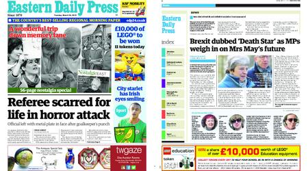 Eastern Daily Press – March 26, 2019