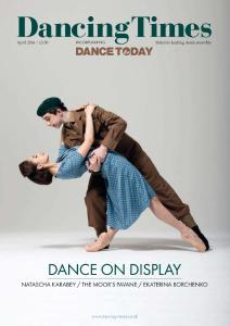 Dancing Times - Issue 1268 - April 2016