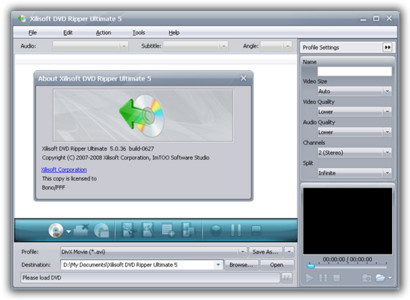 Xilisoft DVD Ripper Ultimate 5.0.49.0310 Portable