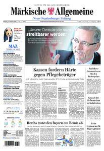 Neue Oranienburger Zeitung - 02. Oktober 2017