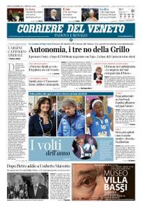 Corriere del Veneto Padova e Rovigo – 29 dicembre 2018