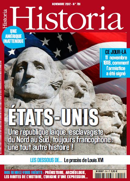 Historia N°791 - Novembre 2012