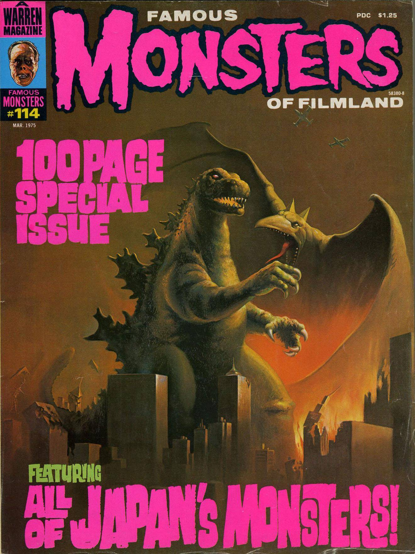 Famous Monsters of Filmland 114 1975