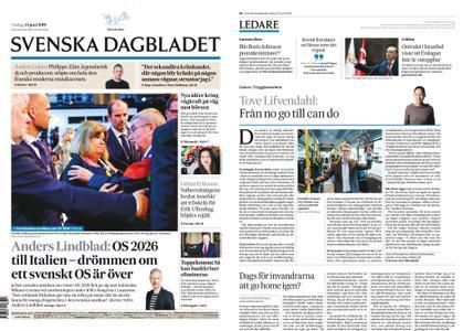 Svenska Dagbladet – 25 juni 2019