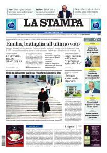 La Stampa Roma - 25 Gennaio 2020