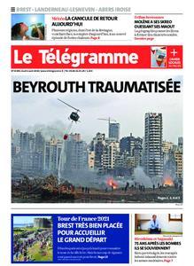 Le Télégramme Brest Abers Iroise – 06 août 2020
