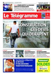 Le Télégramme Landerneau - Lesneven – 15 juillet 2021