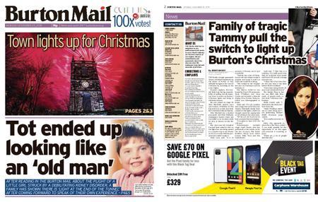 Burton Mail – November 25, 2019