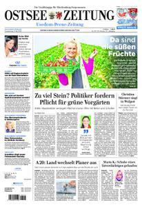 Ostsee Zeitung Wolgast - 09. Mai 2019