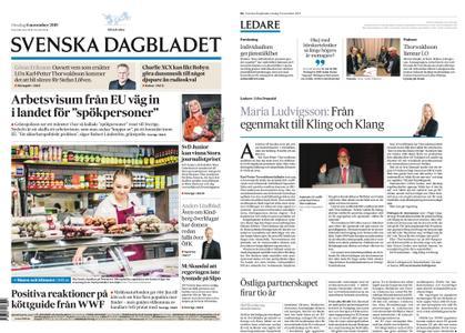 Svenska Dagbladet – 06 november 2019