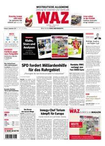 WAZ Westdeutsche Allgemeine Zeitung Oberhausen-Sterkrade - 08. September 2017