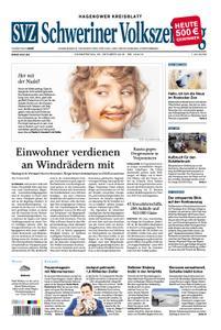 Schweriner Volkszeitung Hagenower Kreisblatt - 25. Oktober 2018