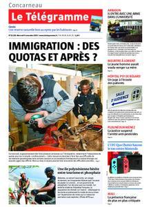 Le Télégramme Concarneau – 06 novembre 2019