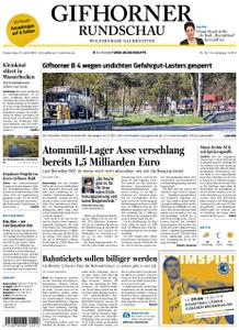 Gifhorner Rundschau - Wolfsburger Nachrichten - 18. April 2019