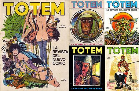 Totem #1 to #5 (1977)