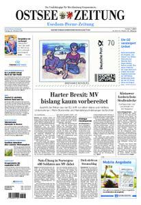 Ostsee Zeitung Wolgast - 26. Oktober 2018