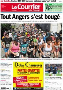 Le Courrier de l'Ouest Angers – 03 juin 2019