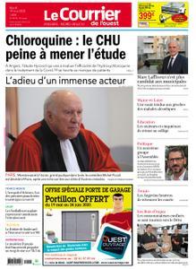 Le Courrier de l'Ouest Angers – 19 mai 2020