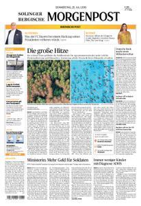 Solinger Morgenpost – 25. Juli 2019