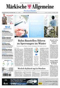 Märkische Allgemeine Westhavelländer - 27. Oktober 2018