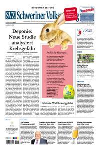 Schweriner Volkszeitung Bützower Zeitung - 20. April 2019