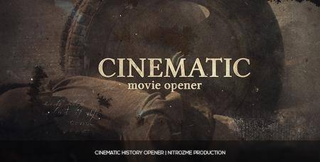 Cinematic History - Project for After Effects (VideoHive)