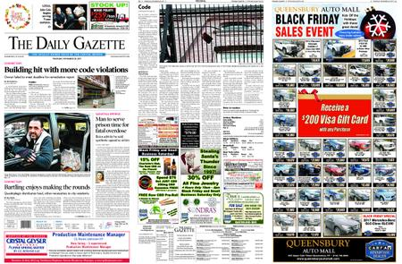 The Daily Gazette – November 28, 2019