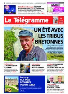 Le Télégramme Brest Abers Iroise – 13 juillet 2020