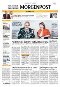 Solinger Morgenpost – 01. April 2019
