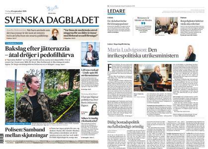 Svenska Dagbladet – 10 september 2019