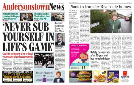 Andersonstown News – February 01, 2020