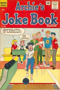 Archies Joke Book Magazine 074 1963