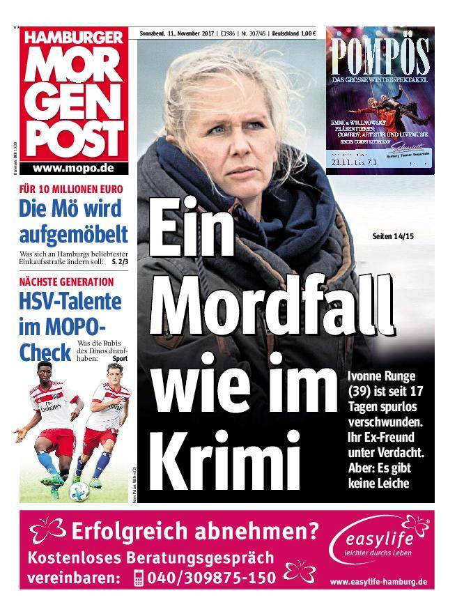 Hamburger Morgenpost - 11. November 2017