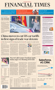 Financial Times Europe – 12 December 2018