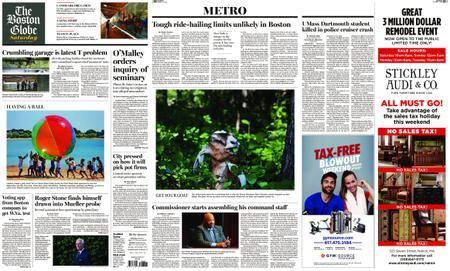 The Boston Globe – August 11, 2018