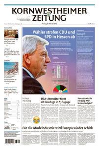 Kornwestheimer Zeitung - 29. Oktober 2018
