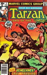 Tarzan 005 Marvel 1977-10 c2c terrible scanner