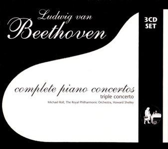 Beethoven - Complete Piano Concertos & Triple Concerto - Roll/RPO/Shelley