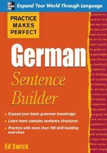 Practice Makes Perfect: German Sentence Builder
